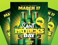 St Patrick's Day | Flyer Psd Template