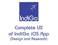 IndiGo iOS App - Complete UX (Design and Research)