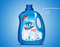 Alfa Laundry detergent