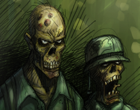 Zombies in 'Nam