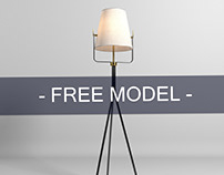 Floor Lamp 3D Model Download