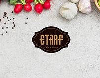 Etraf Cafe Logo
