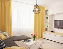 C. M. Living room.
