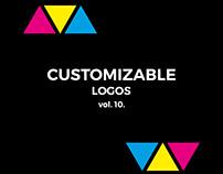 Customizable logos for sale vol. 10.