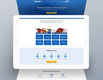 Landing Page for Legal Support Company - Leadgen.md