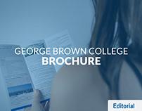 George Brown College Brochure