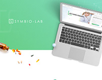 Symbio-Lab - single page web Design