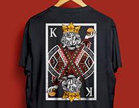 T-shirt Design for King's Grill Restaurant