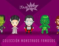 Taraan - Colección Monstruos famosos