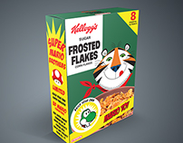 Vintage Cereal Box Redesign
