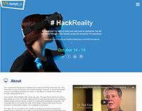HackReality Microsite