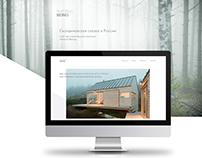 Сайт скандинавской строительной компании