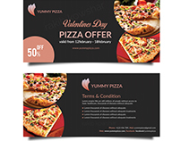 pizza/fast food Voucher