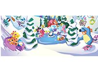 Animal Jam Winter Campain 2016