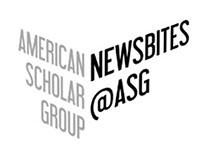 American Scholar Group Newsletter