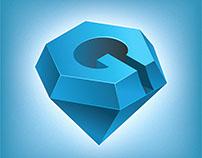 """""""G"""" letter logo"""
