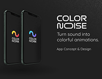 Color Noise App Design