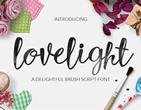 Lovelight Typeface