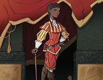 Baroque Aristocrat - July's character design