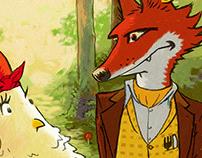 Fox & Hen