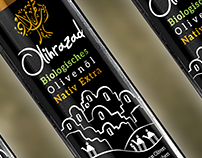 Olihrazad Olive oil - Packaging & Branding