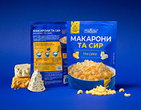 Macaroni and Cheese — Packaging Design