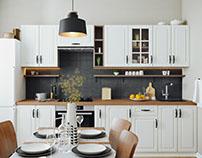 Проект кухни 11 кв.м