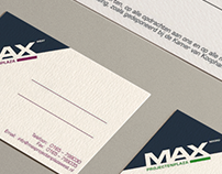 MaxProjecten - business cards & work orders (branding)