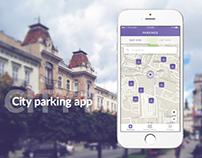 City parking app