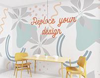 Interior Wall Art Mockup