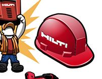 Hilti Sticker Designs