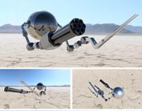 Weaponized Autonomous Drone
