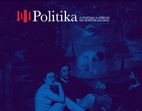 Web and graphic design — Politika encyclopedia