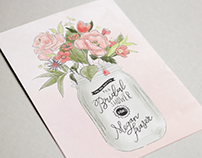 Megan's Bridal Shower Invitations