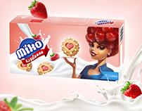 """Разработка упаковки для печенья """"Miko"""""""