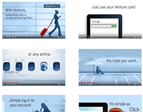 Capital One Venture Visa video for Clock Four