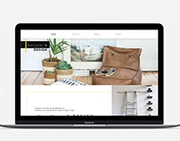 Home + Design | Landing page