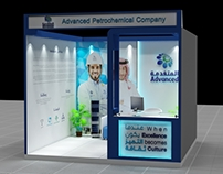 Advanced Petrochemical Company booth 3x3m