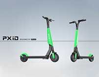 Shared scooter design