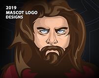 Mascot Logo Designs 2019 / LevienGraphic