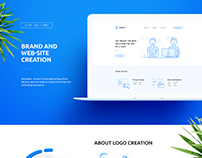 Brand and web-site creation for digital agency