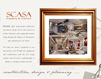 SCASA - Brochure Design