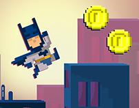 8-bit Batman