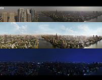 Panorama MattePainting Tisbah Ala Khair movie 2017