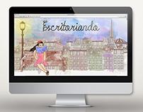 Escritoriando - Blog Template (Blogger)