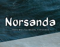 Norsanda   Free Multilingual Typeface