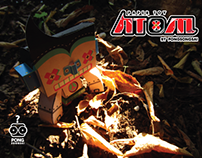 ATOM - paper toy