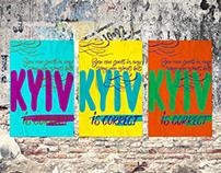 KYIV is correct. Social poster