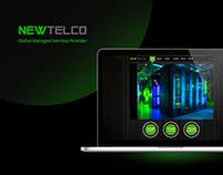 NewTelco - Datacenter website design