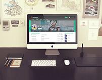 Chiasenhac.vn - Layout website FREE PSD Template